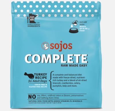 Sojos's Complete Turkey 7lb