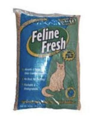Feline Fresh Natural Pine Pellet Litter 40lb