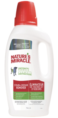 Natures Miracle Dog Stain & Odour Remover Spray 946ml