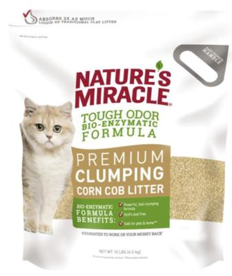 NM Premium Clumping Corn Litter 10lbs