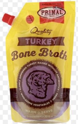 Primal Bone Broth Turkey 20oz