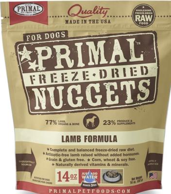 Primal Canine Freeze-Dried Lamb 5.5oz