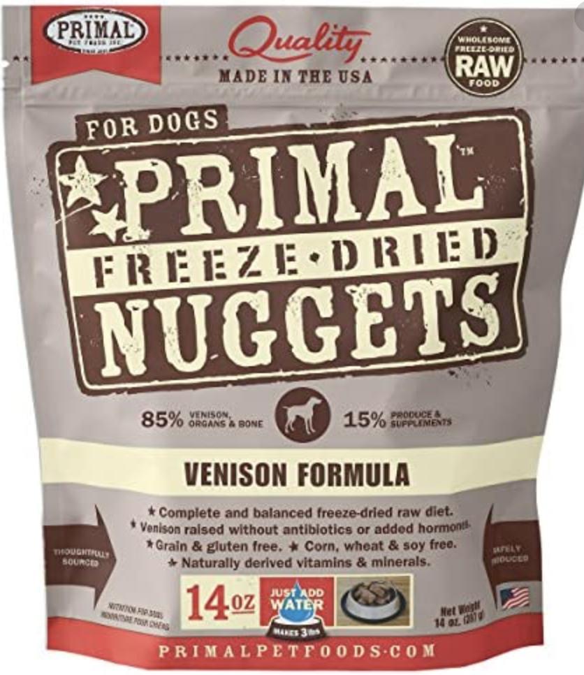 Primal Canine Freeze-Dried Vension 14oz