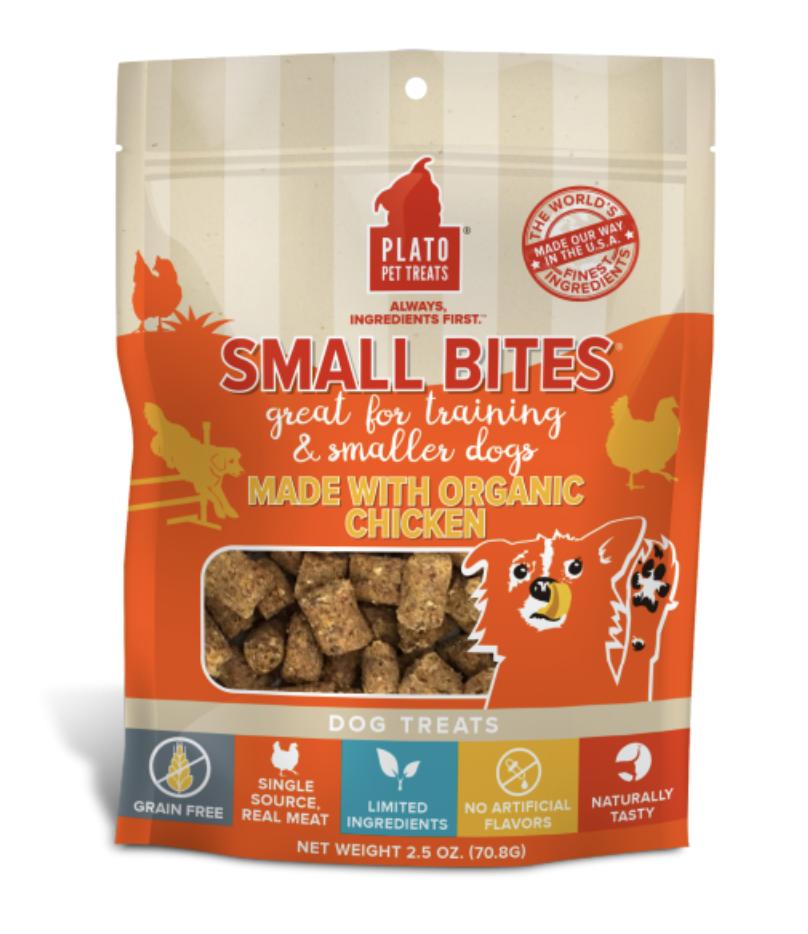 Plato Small Bites Organic Chicken 2.5 oz