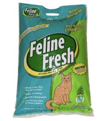 Feline Fresh Natural Pine Pellet Litter 20lb
