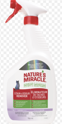 Natures Miracle Cat Stain & Odour Remover 946mL