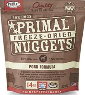 Primal Canine Freeze-Dried Pork 5.5oz