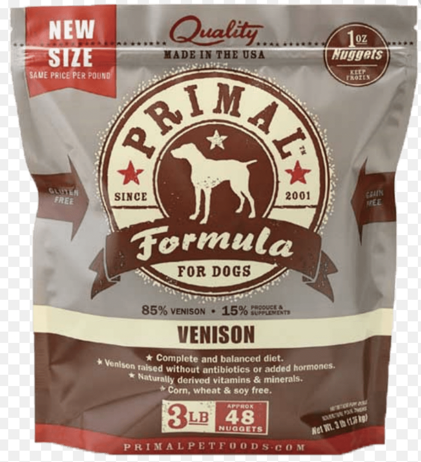 Primal Canine Raw Nuggets Venison 3lb