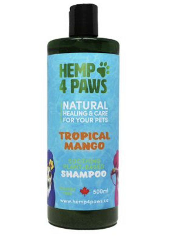 Hemp 4 Paws Natural Mango Shampoo