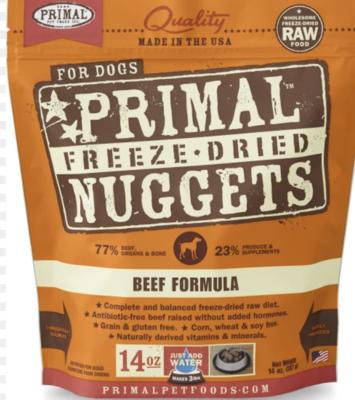 Primal Canine Freeze-Dried Beef 14oz