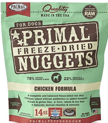 Primal Canine Freeze-Dried Chicken 5.5oz