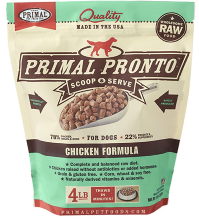 Primal Canine Raw Pronto Chicken 12oz