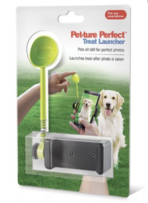 Pet-ture Perfect Treat Launcher