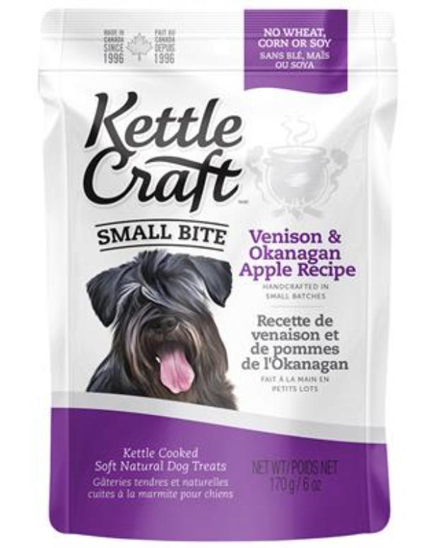 Kettle Craft Venison & Okanagan Apple Small 170GM