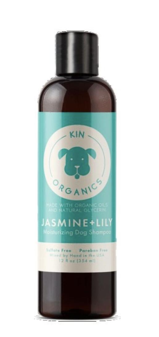 KIN ORGANICS Jasmine & Lily Moisturizing Dog Shampoo 12oz