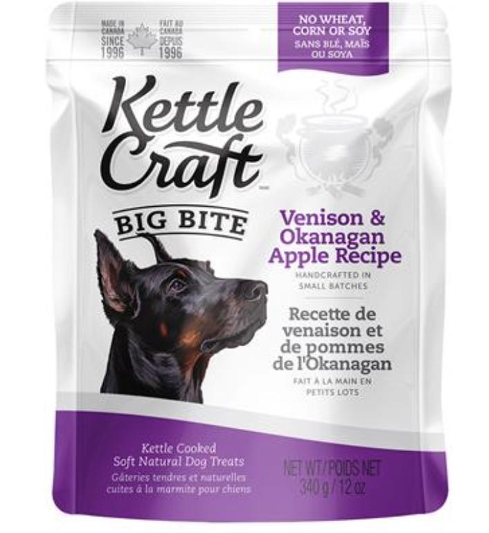 Kettle Craft Venison & Okanagan Apple Large 340GM