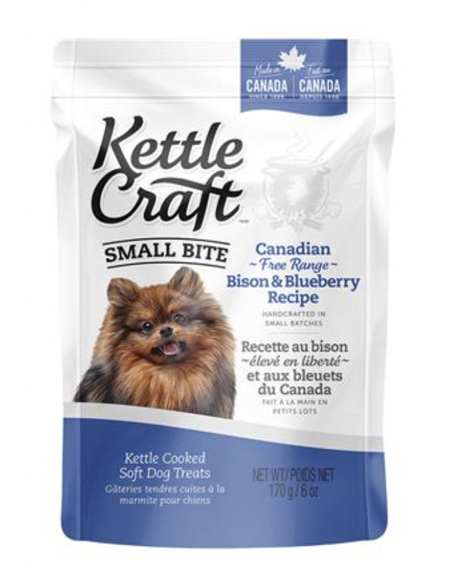Kettle Craft Canadian Bison & Blueberry Small 170GM
