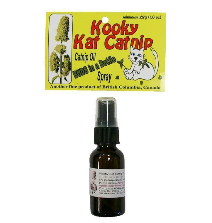 KookyKat Catnip Spray 28mL