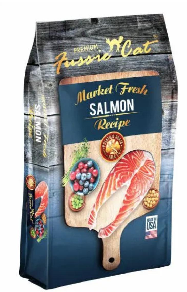 Fussie Cat Fresh Salmon 4lb