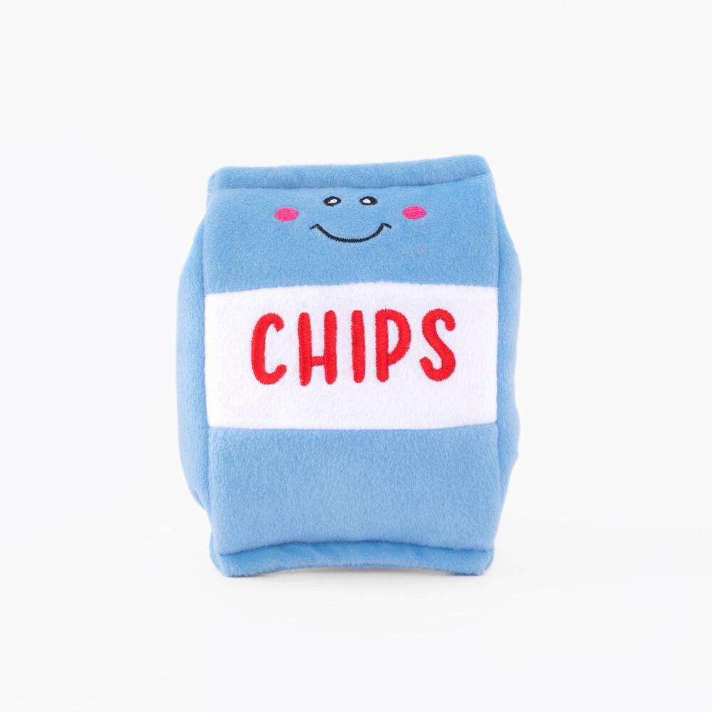 ZippyPaws NomNomz Squeaker Toy Chips