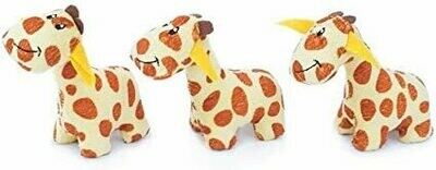 ZippyPaws Miniz Giraffes 3 pc