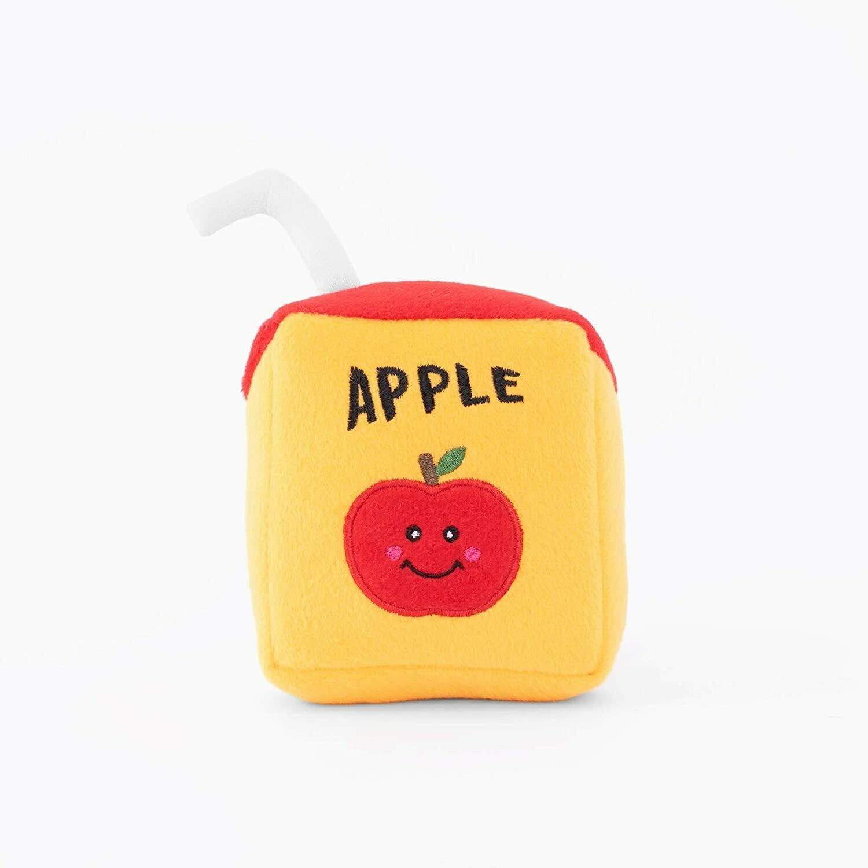 ZippyPaws NomNomz Squeaker Toy Juicebox