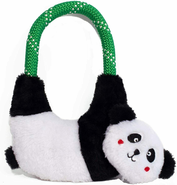 ZippyPaws Panda Rope Tug