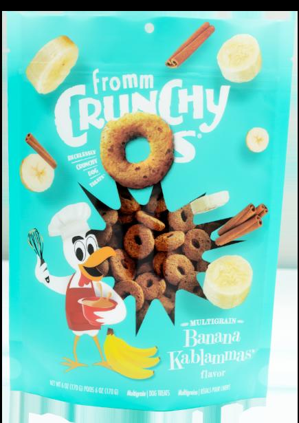 Fromm Dog Crunchy Os Banana Kablammas Treats 6 oz