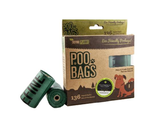Define Planet POO BAGS Refills 8 PK (136 bags)