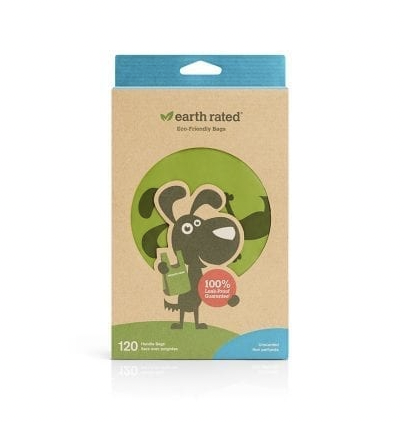 Earth Rated Handle Poop Bag Unscented 120ct