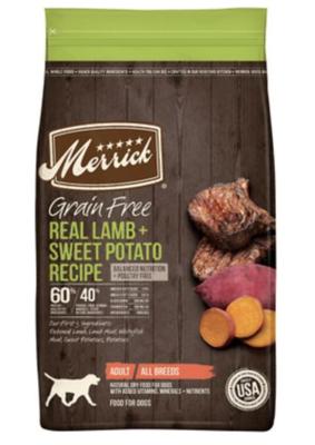 Merrick GF Lamb & Sweet Potato 4lb