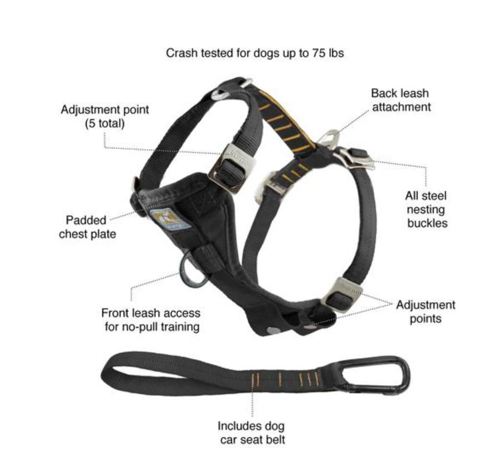 Kurgo Smart Harness Enhanced Strength S
