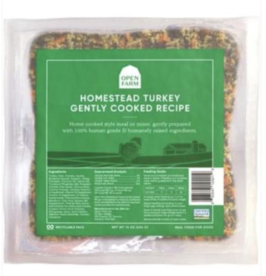 Open Farm Dog Gently Cooked Turkey 16 oz