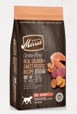 Merrick GF Salmon & Sweet Potato 4 lb