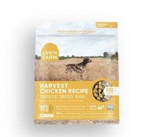 Open Farm Dog Freeze Dried Raw Harvest Chicken 13.5 oz