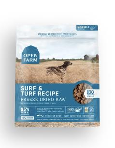 Open Farm Dog Freeze Dried Raw Surf & Turf 13.5 oz