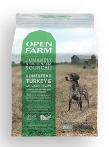 Open Farm Dog Homestead Turkey and Chicken 4.5lb