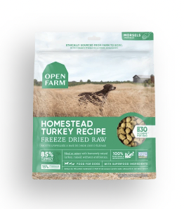Open Farm Dog Freeze Dried Raw Homestead Turkey 13.5 oz