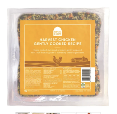 Open Farm Dog Gently Cooked Chicken 16 oz