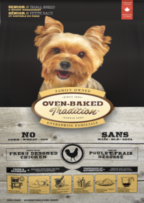Oven Baked Tradition Dog Small Breed Senior Chicken 5 lb