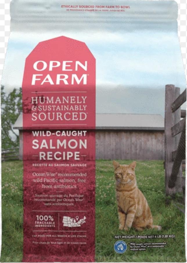 Open Farm Cat Wild Salmon 4lb