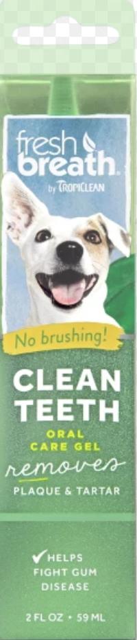 Tropiclean Fresh Breath Oral Care Gel 2oz / 59ml