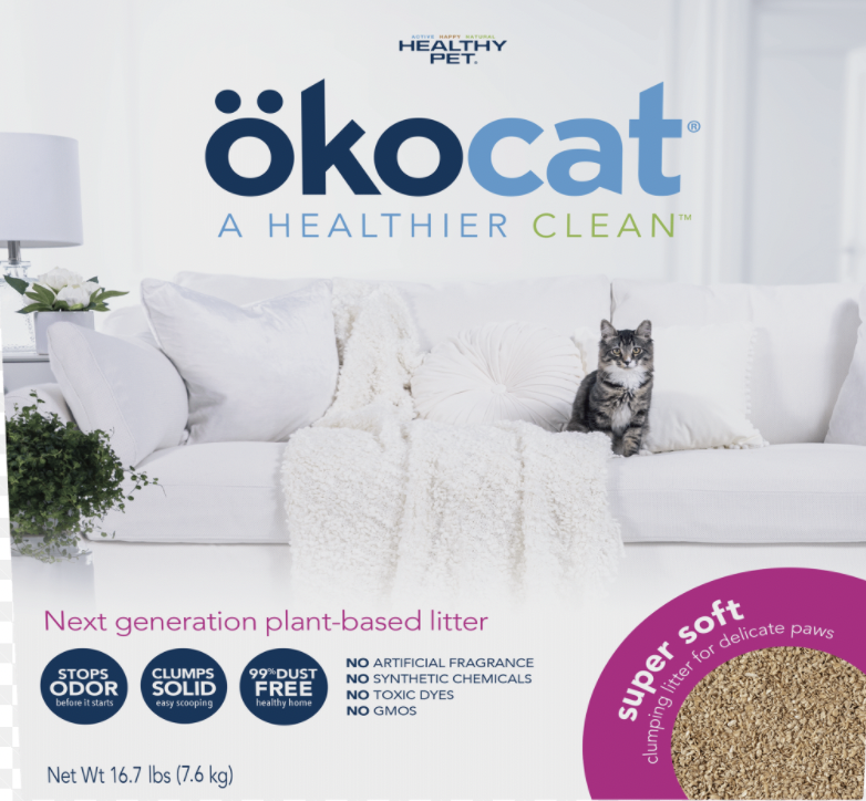 Okocat Clumping Wood 6kg