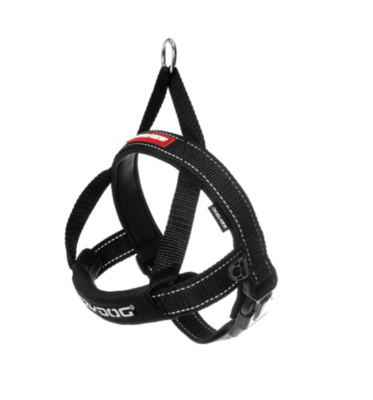 EzyDog Quick Fit Harness Black Extra Large