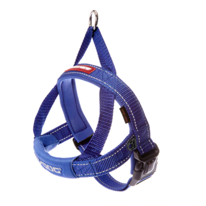 EzyDog Quick Fit Harness Blue Medium