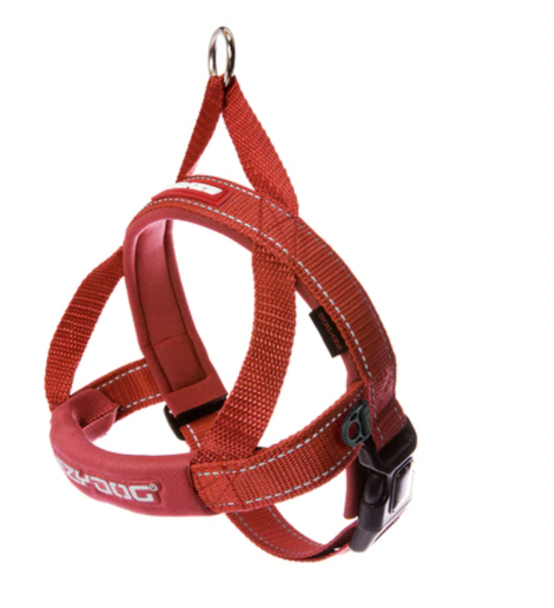 EzyDog Quick Fit Harness Red Large