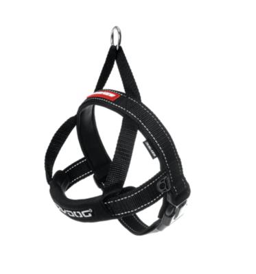 EzyDog Quick Fit Harness Black Medium