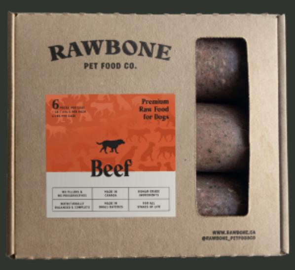 Rawbone Beef Meal 6lb