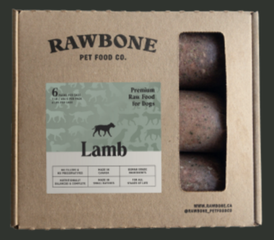 Rawbone Lamb Meal 6lb
