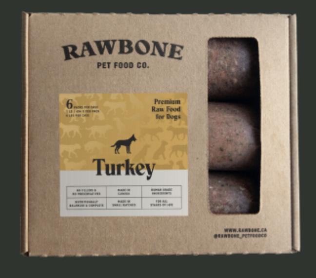Rawbone Turkey Meal 6lb